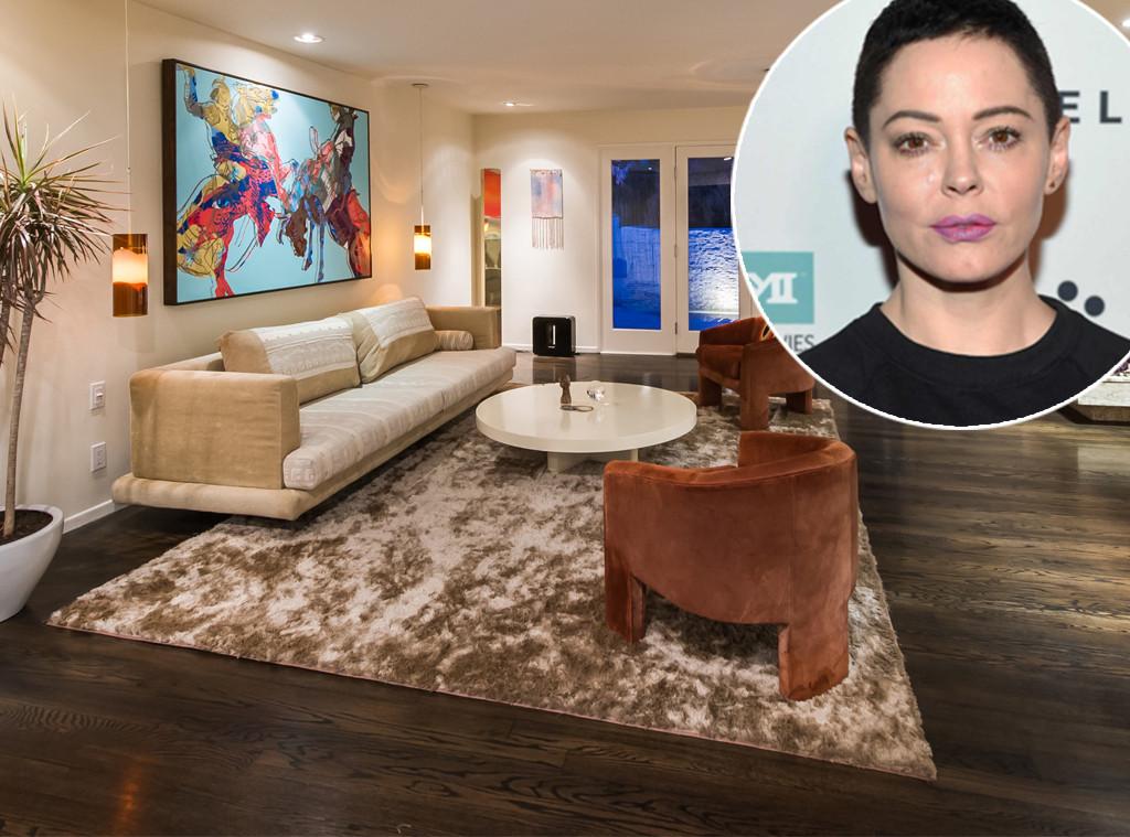 Rose McGowan, house, real estate