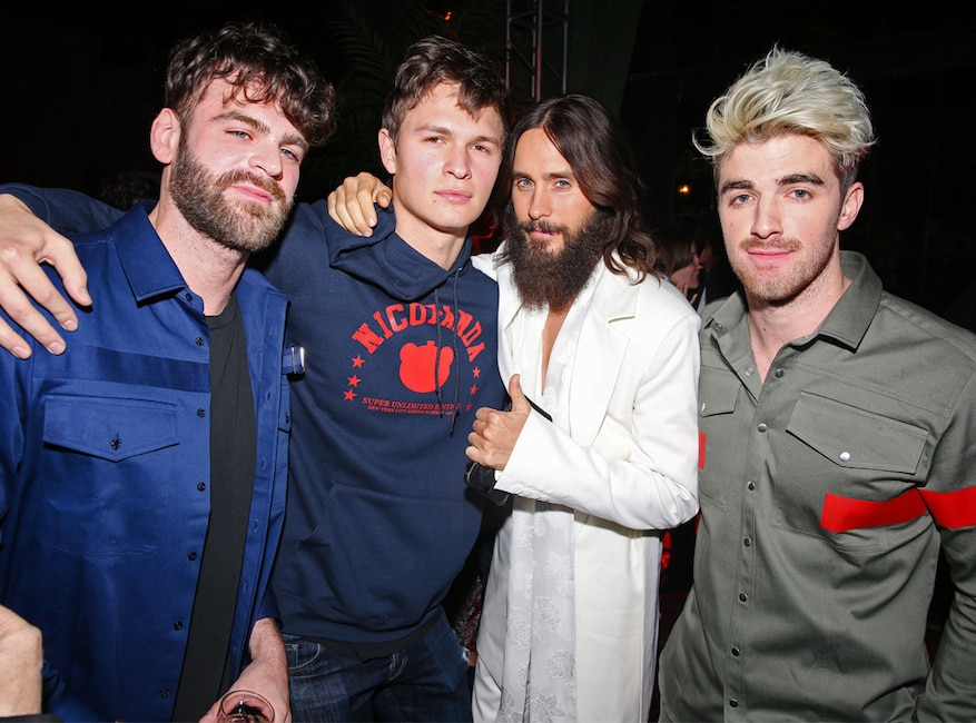 Rs Chainsmokers Jared Leto Ansel Elgort Ct Fit Sophie Turner Roc Nation Brunch