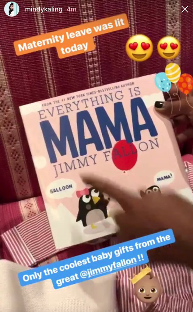 Mindy Kaling, Instagram