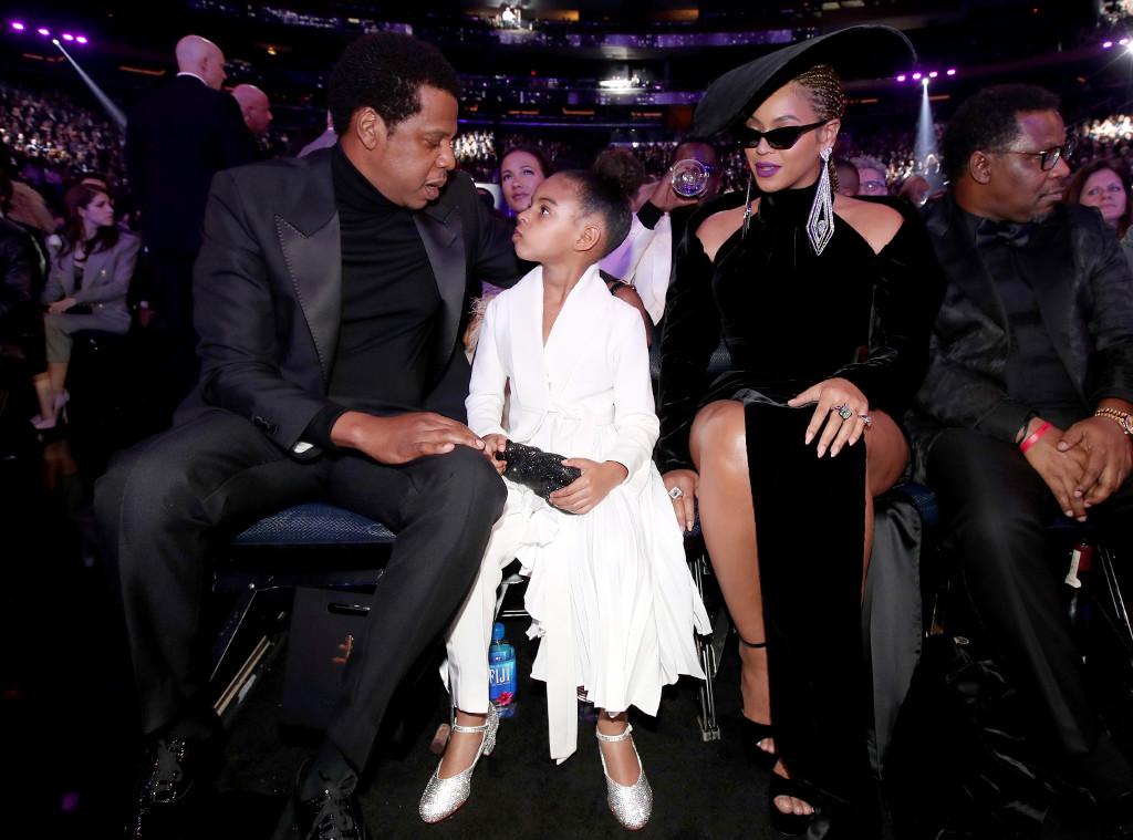 Jay-Z, Blue Ivy, Beyonce, Grammy Awards, Candids