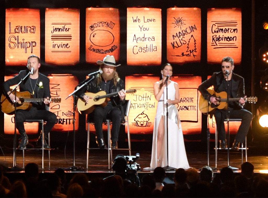T.J. Osborne, John Osborne, Maren Morris, Eric Church, 2018 Grammy Awards, Performances