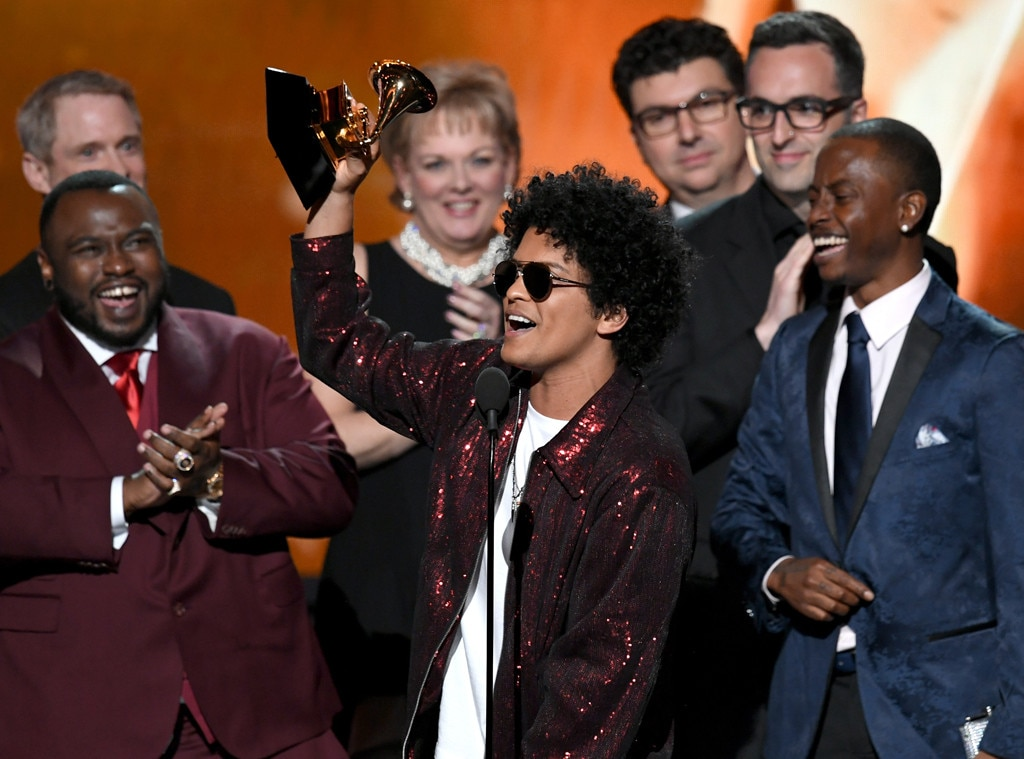 Bruno Mars Sweeps the 2018 GRAMMYs With 7 Awards