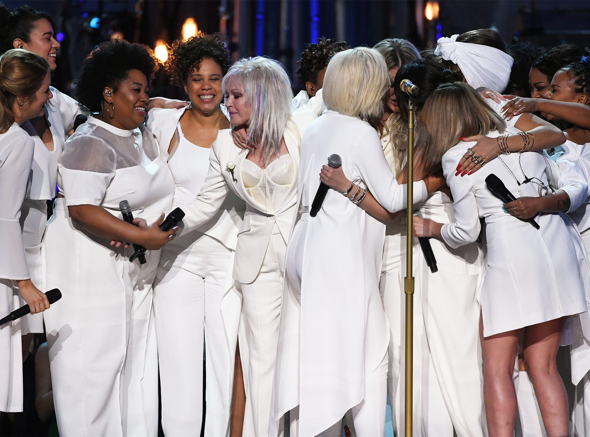 Cyndi Lauper, Bebe Rexha, Kesha, Camila Cabello, Andra Day, 2018 Grammy Awards, Performances
