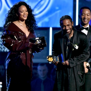 Kendrick Lamar, Rihanna, 2018 Grammy Awards, Winners
