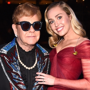 Miley Cyrus, Elton John, 2018 Grammy Awards, Candids
