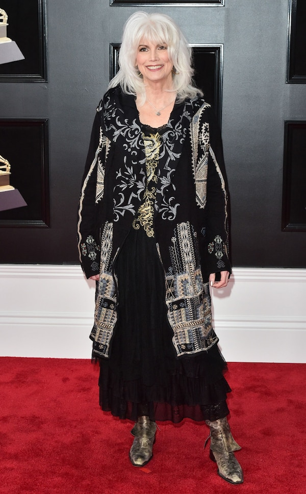 Emmylou Harris from 2018 Grammys Red Carpet Fashion | E! News Emmylou Harris In Nederland In 2018