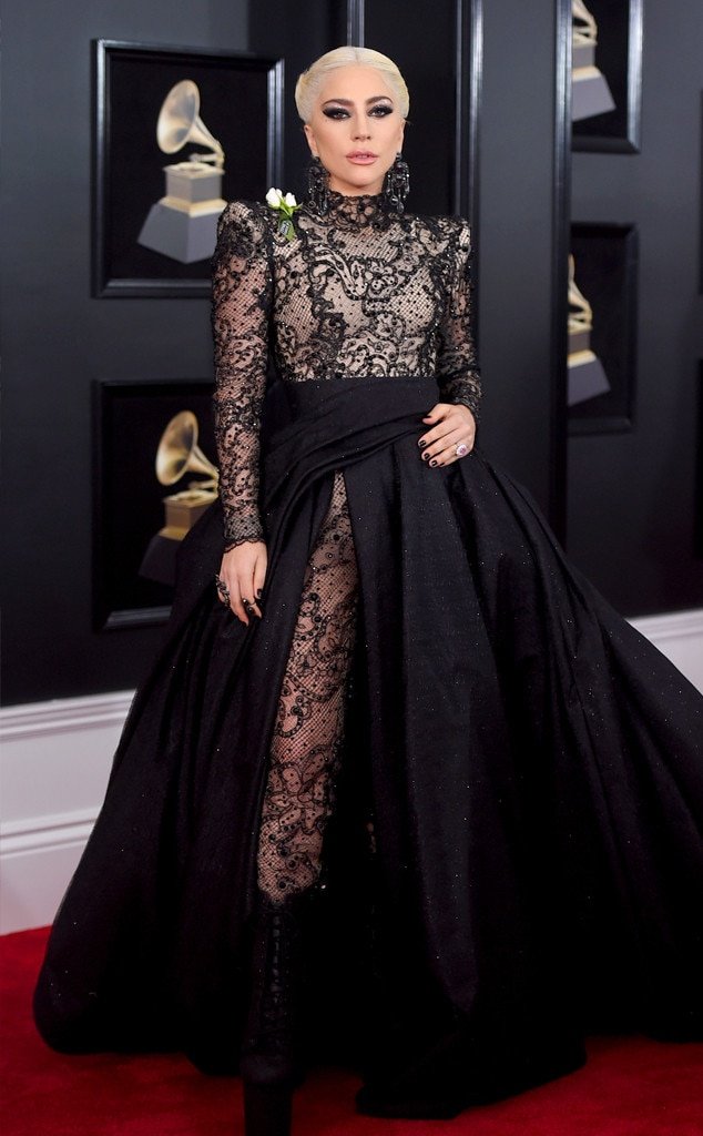 2018 Grammys Red Carpet Fashion Lady Gaga, 2018 Grammy Awards, Red Carpet Fashions