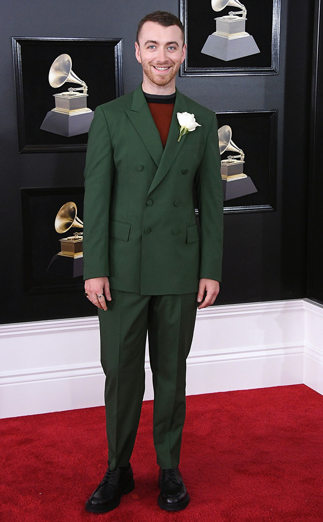 Sam Smith, 2018 Grammy Awards, Red Carpet Fashions