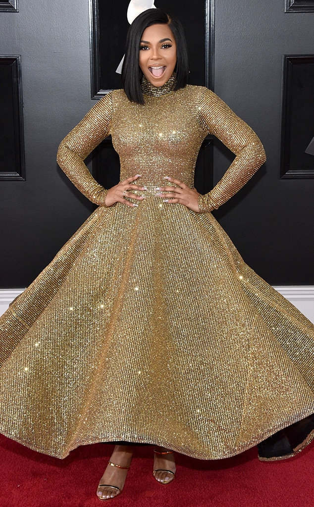 Ashanti, 2018 Grammy Awards, Red Carpet Fashions