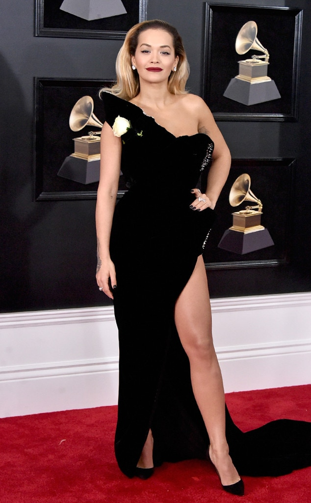 Rita Ora from Standout Style Moments From Grammys 2018 | E ...