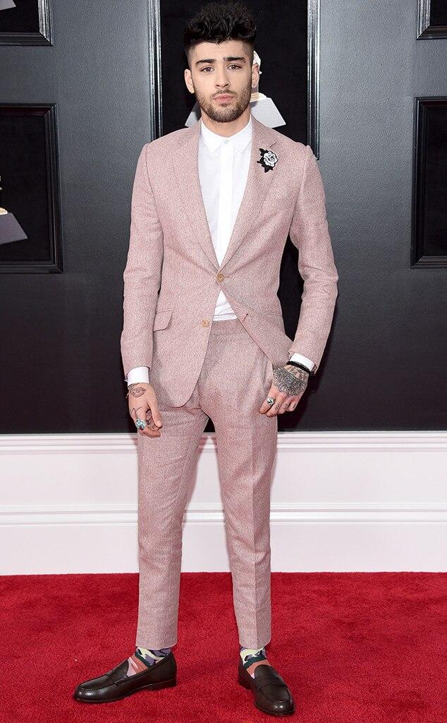 Zayn Malik, 2018 Grammy Awards, Red Carpet Fashions