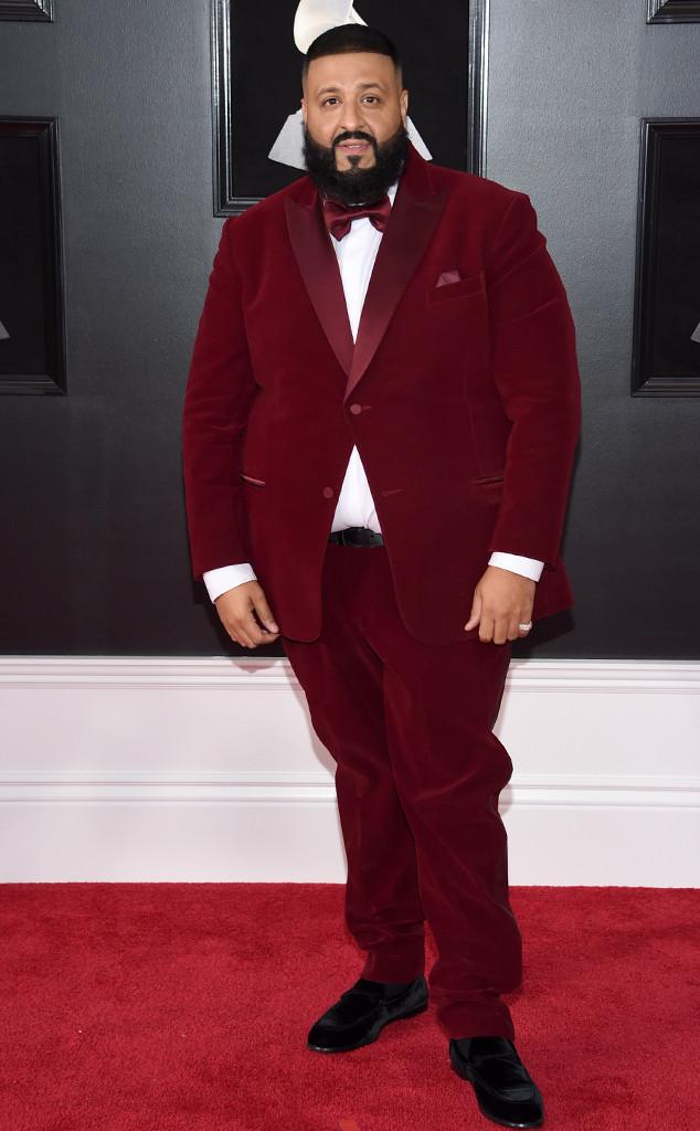 DJ Khaled, 2018 Grammy Awards, Red Carpet Fashions