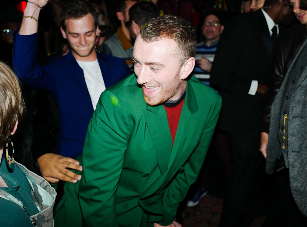 Sam Smith, 2018 Grammy Awards, Party Pics