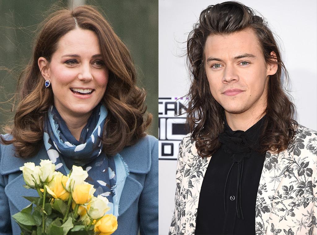 Kate Middleton, Harry Styles