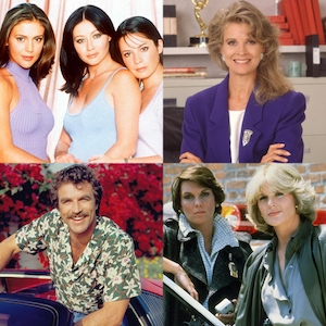 Cagney & Lacey, Magnum PI, Murphy Brown, Charmed, TV REBOOTS