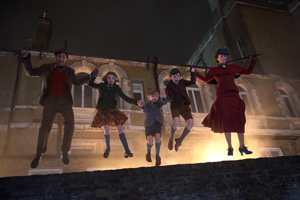 'Mary Poppins Returns' first trailer finally debuts during the Oscars