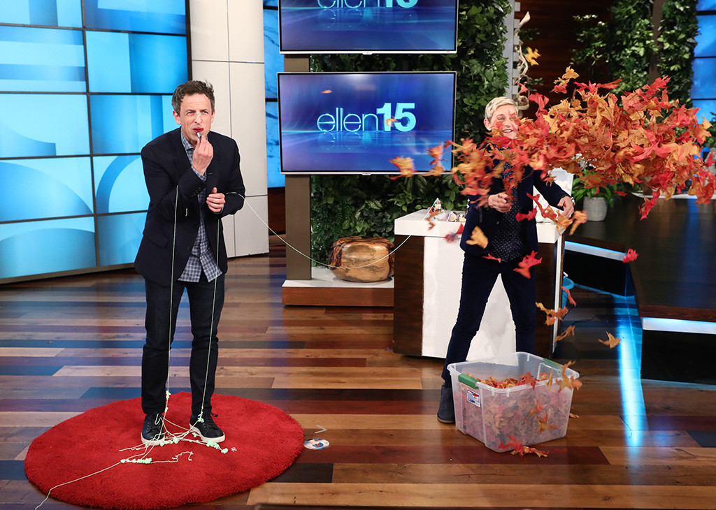 Seth Meyers, The Ellen DeGeneres Show