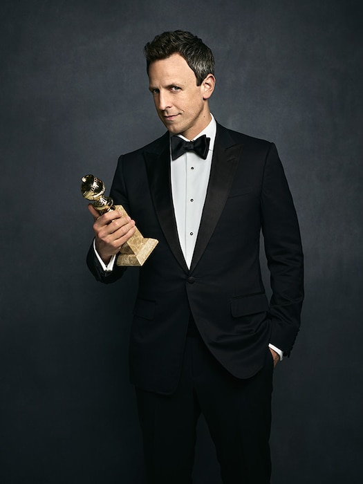 Seth Meyers, 2018 Golden Globes