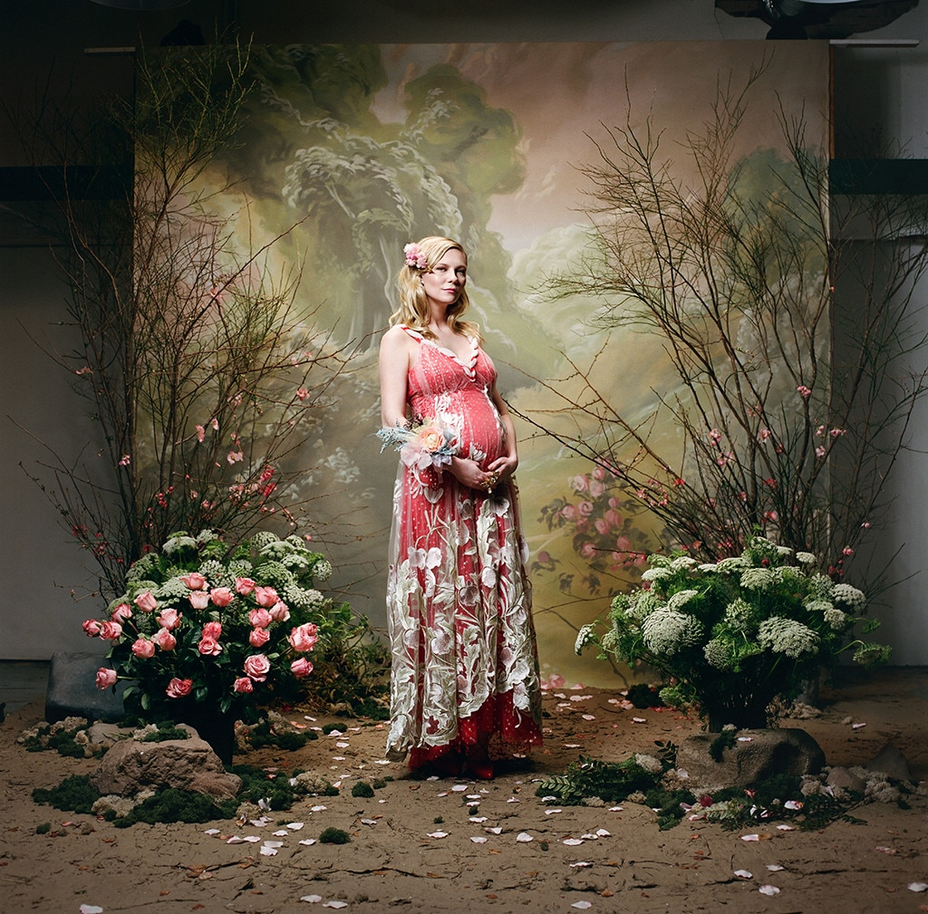 Kirsten Dunst confirms pregnancy in new ad