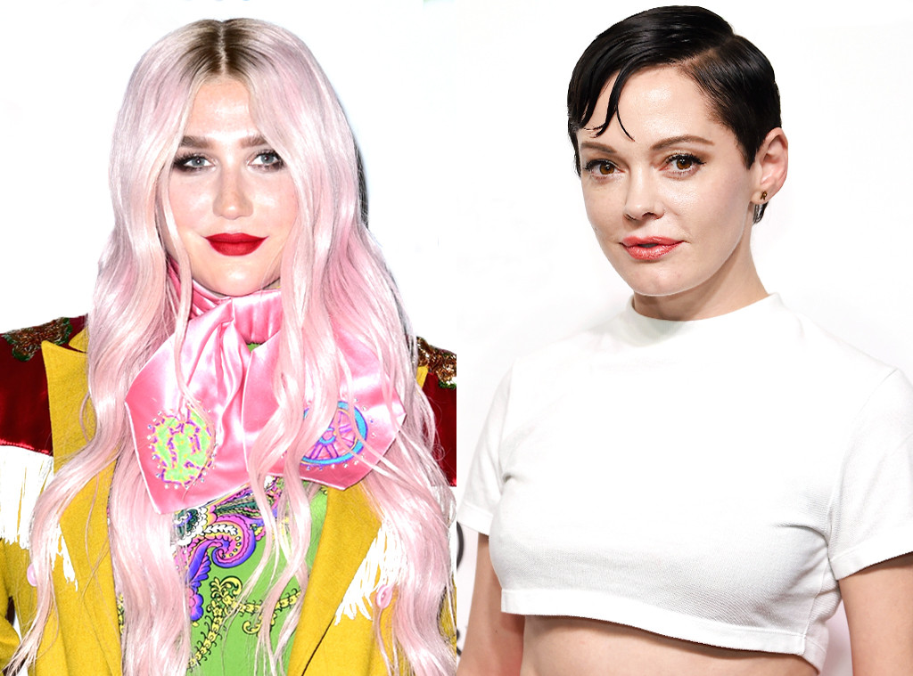Kesha, Rose McGowan