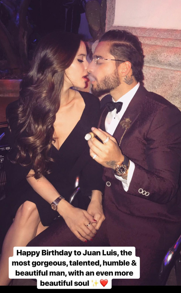 Inside Maluma's Romance With Natalia Barulich