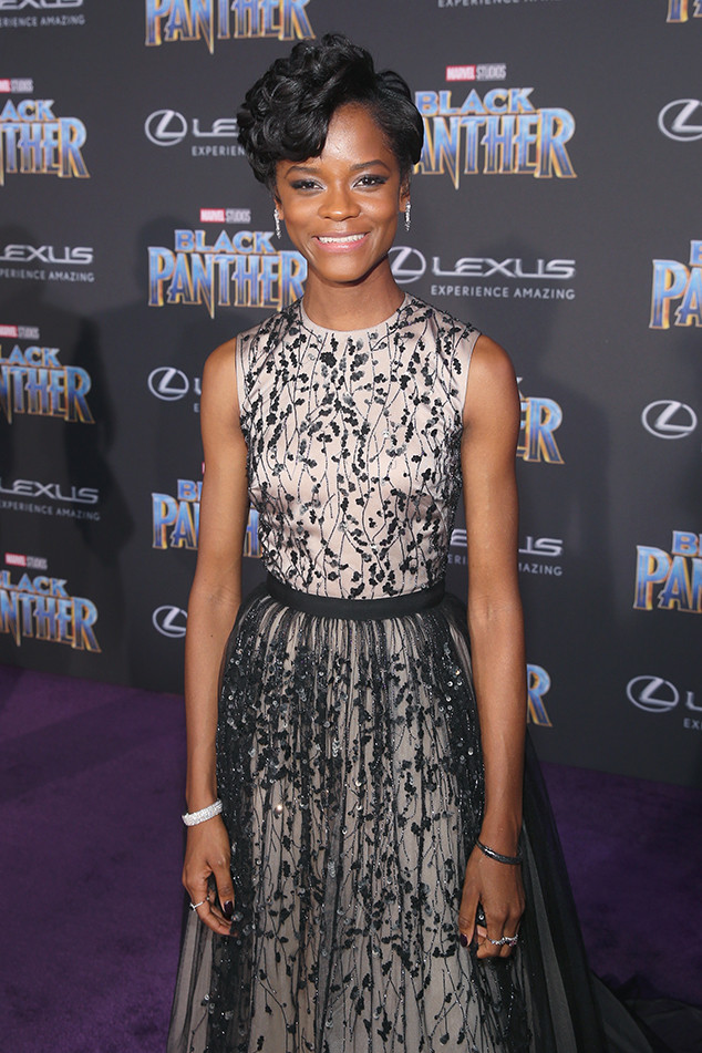Letitia Wright, Black Panther Premiere
