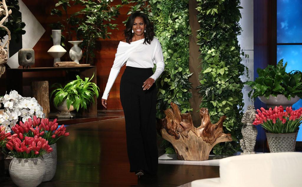 Michelle Obama, The Ellen Show