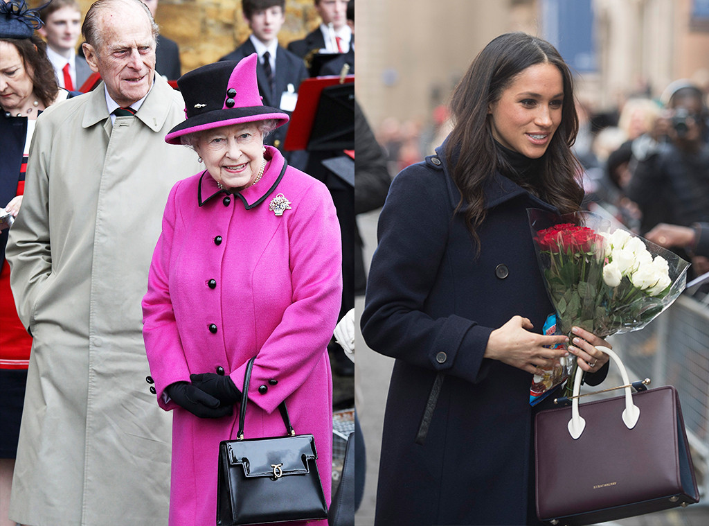 Queen Elizabeth II, Meghan Markle, Purse