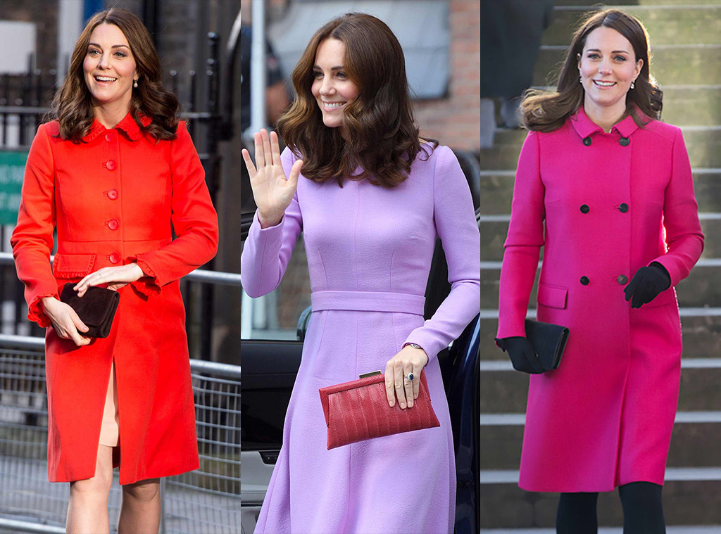 Kate Middleton, Clutches