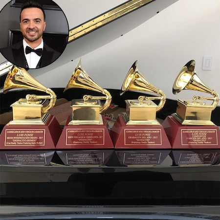 rs 600x600 180131105107 1080 luis fonsi grammy instagram - Luis Fonsi's 4 Latin Grammys Awards Have Actually Shown Up and the Vocalist Could Not Be Better