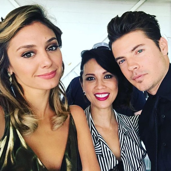 Christine Evangelista, Josh Henderson, The Arrangement