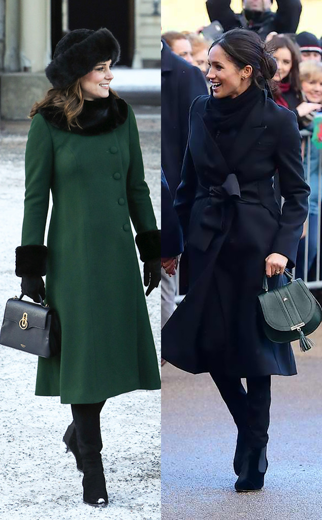 Is Kate Middleton And Meghan Markle 39 S Style In Sync Here