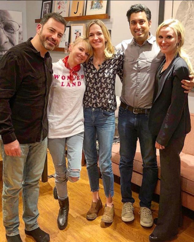 Anna Faris, Jimmy Kimmel