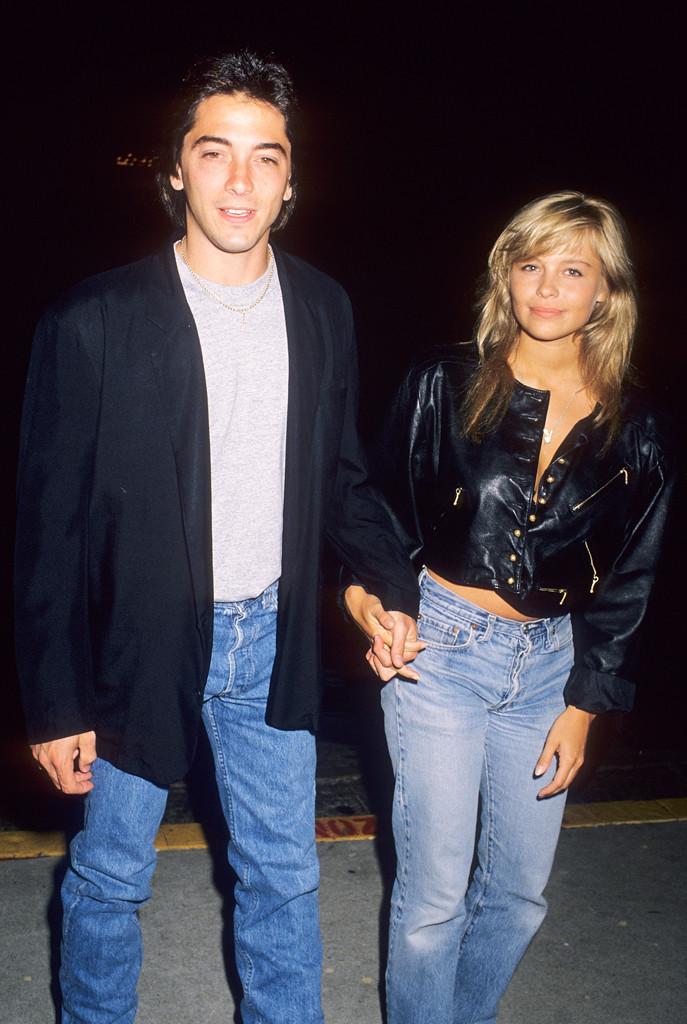 Scott Baio, Pamela Anderson, 1990