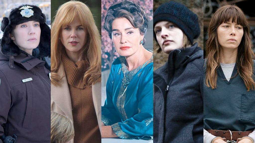 Golden Globes predictions, split #12, Carrie Coon, Nicole Kidman, Jessica Lange, Elisabeth Moss, Jessica Biel