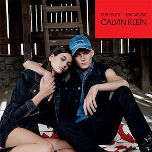 Kaia Gerber, Presley Gerber, Calvin Klein Jeans