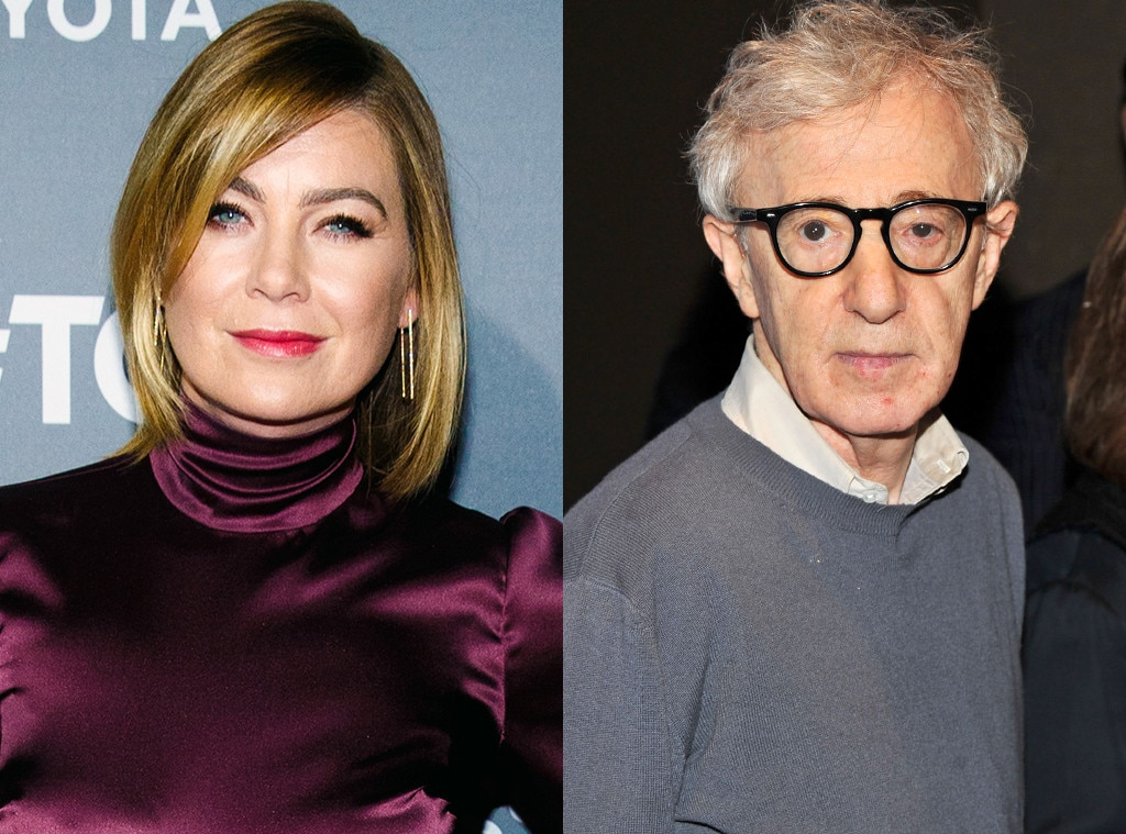'Grey's Anatomy' star Ellen Pompeo slams Woody Allen for molesting his daughter
