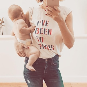 Lauren Conrad, Son, Baby, Liam, Paris, T-Shirt