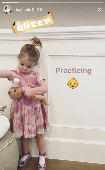 Haylie Duff, Daughter, Ryan, Pregnant
