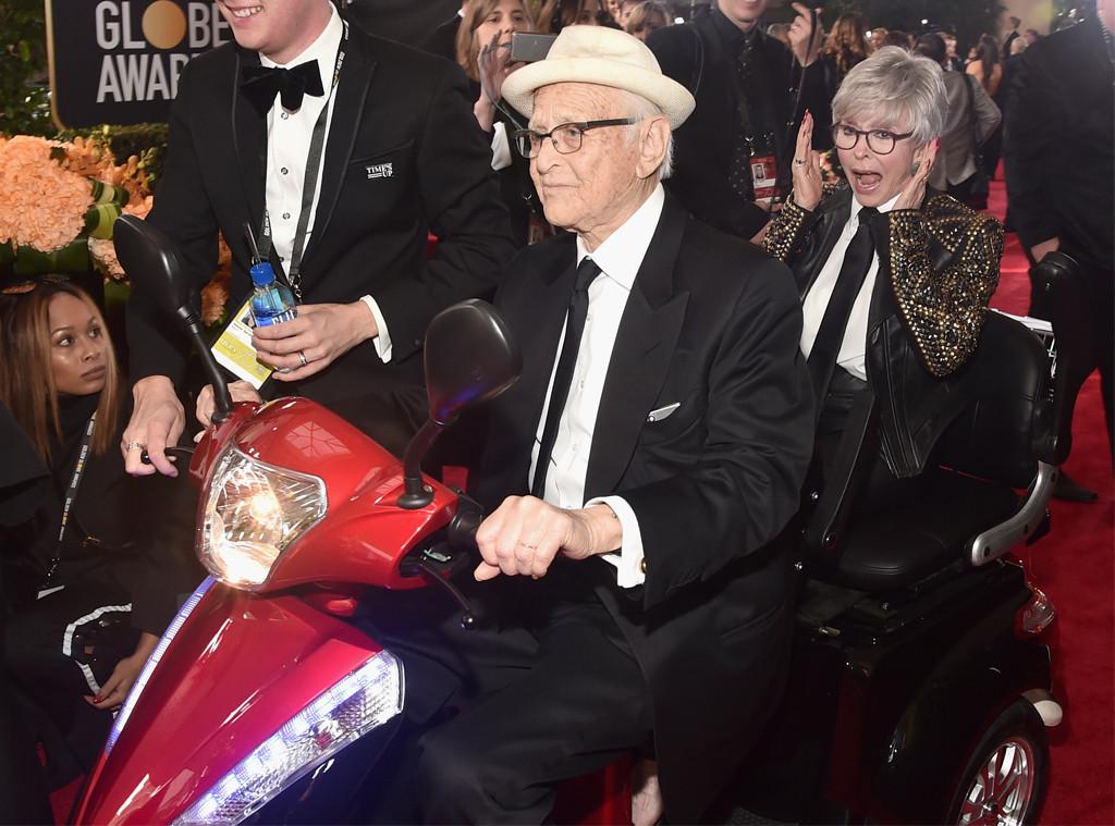 Norman Lear, Rita Moreno, 2018 Golden Globes