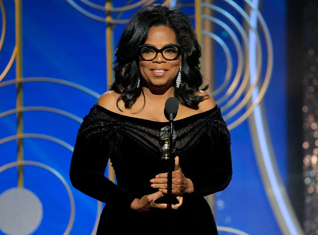 Oprah Winfrey Accepts Golden Globes Life Achievement Honor
