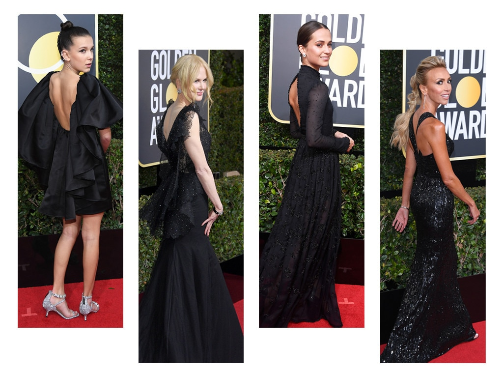 ESC Golden Globes Trends Backless