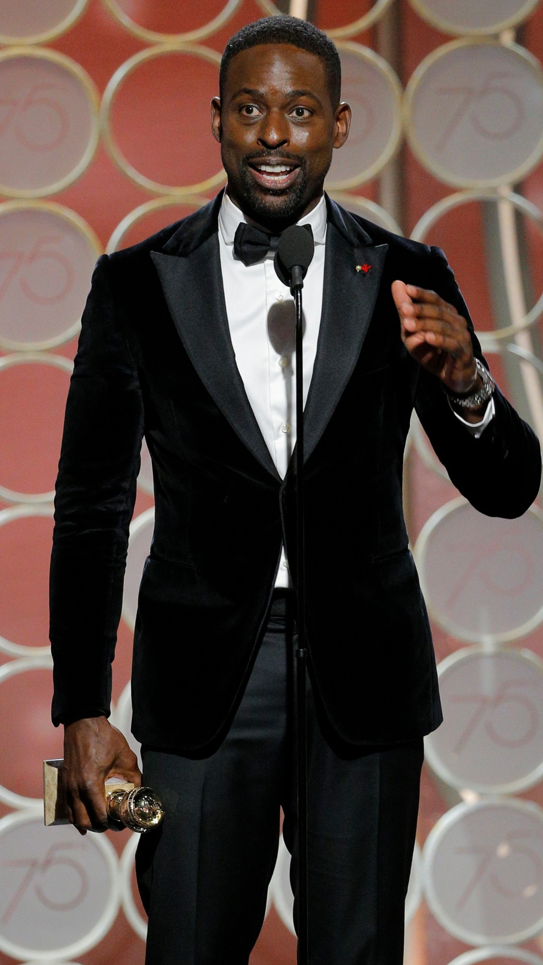 Image result for Sterling K. Brown golden globes
