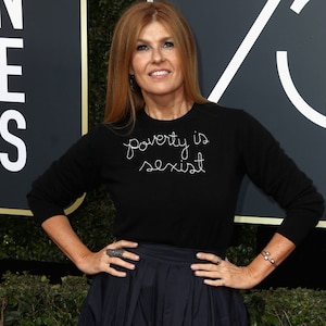 Connie Britton, 2018 Golden Globes, Red Carpet Fashions