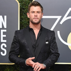 Chris Hemsworth, 2018 Golden Globes, Red Carpet Fashions