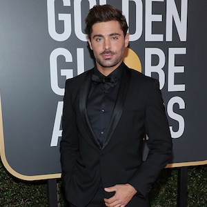 Zac Efron, 2018 Golden Globes, Red Carpet Fashions