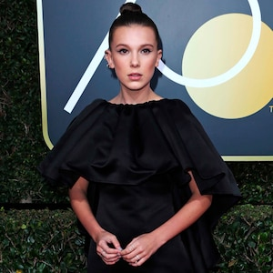 Millie Bobby Brown, 2018 Golden Globes, Red Carpet Fashions