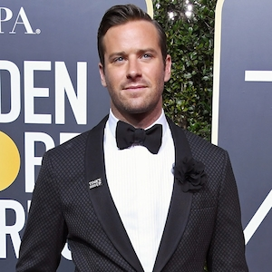 Armie Hammer, 2018 Golden Globes, Red Carpet Fashions