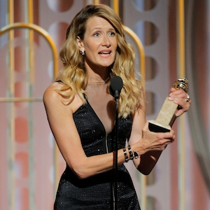 Laura Dern, 2018 Golden Globes, Winners