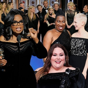 Time's Up Feature, 2018 Golden Globes